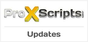 ProXScripts-Updates
