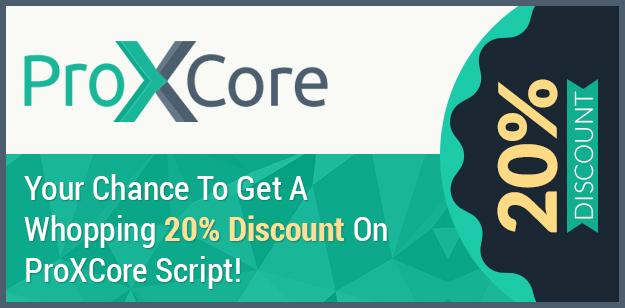 ProXCore Script Discount